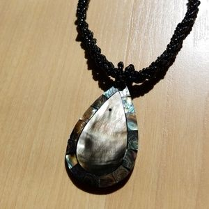Jewelry - Statement Necklace Abalone